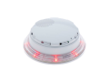 VSL White Platform Sounder Beacon Clear Lens