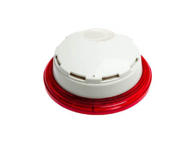 VSL White Platform Sounder Red Les