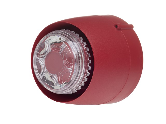 VTB Spatial Sounder/Beacon Shallow Red Body Clear Lens