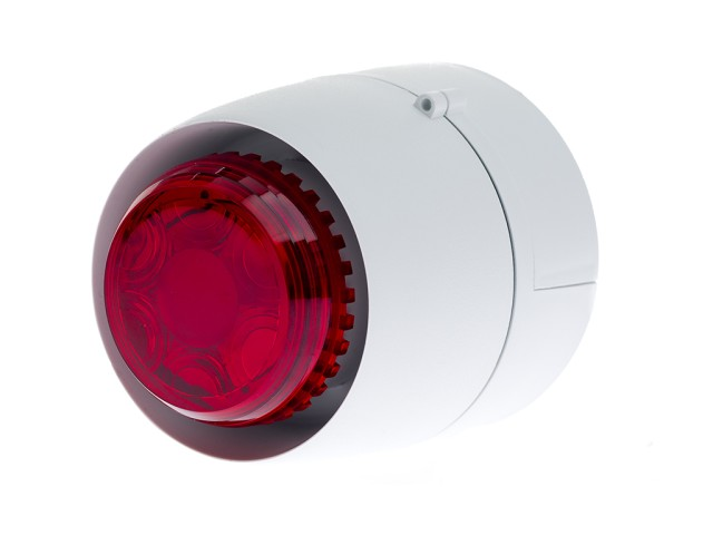 VTB Spatial Sounder/Beacon Deep White Body Red Lens