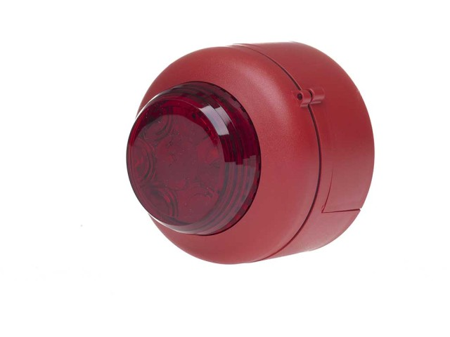 VXB LED Beacon Deep Red Body Red Lens