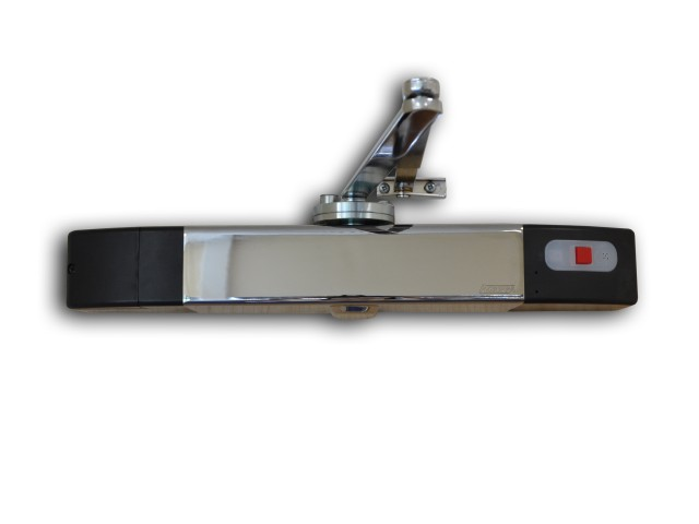 Agrippa Door Closer Unit - Chrome
