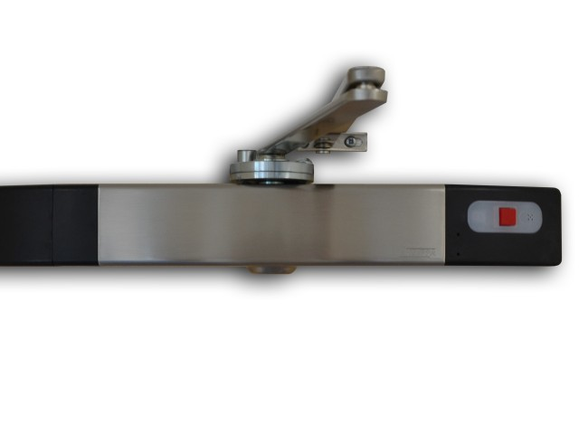 Agrippa Door Closer Unit - Brushed Stainless Steel